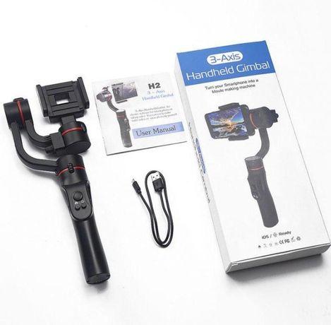 Стабилизатор для телефона 3-Axis Handheld Gimbal видео. Доставка новый