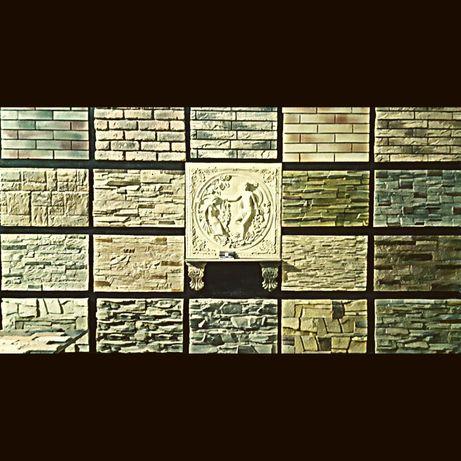 Декоративный камень гипсовый кирпич 3д панели