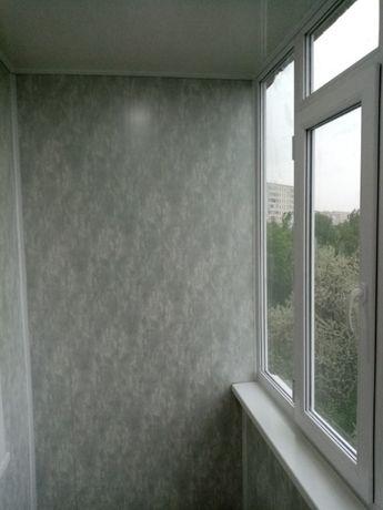 Обшивка балкона, лоджии. Установка. Утепление.