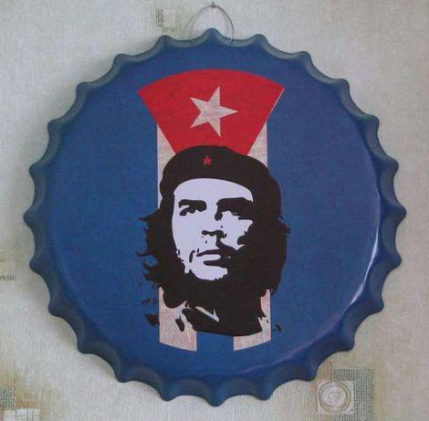 Че Гевара колекционерски табели във формата на капачка за бутилка бира