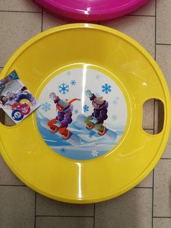 OCAZIE! Placă / colac/sanie pentru zăpadă cu mânere,57 cm,Polonia, nou