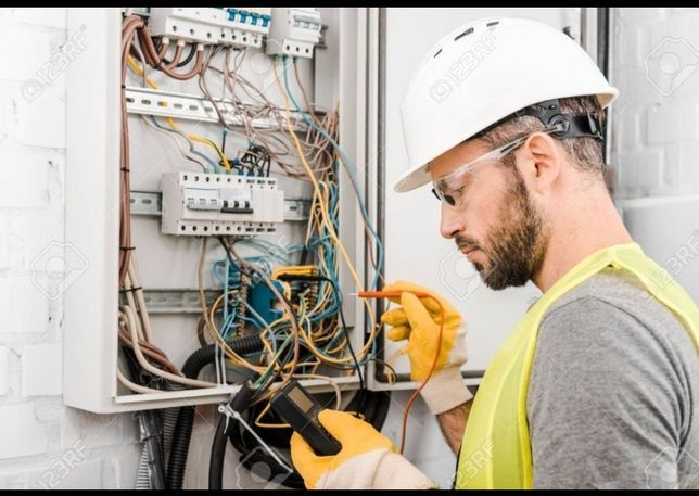 Услуги электрика24/7 все виды работа, гарантия качества