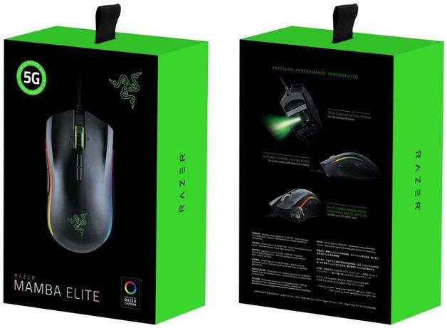 Mouse Gaming Razer Mamba Elite USB Optic, Iluminat RGB, 16000 dpi NOU