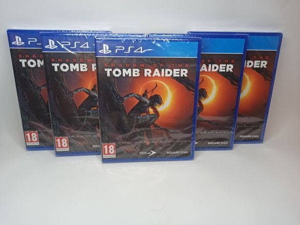 Shadow of the Tomb Raider - Игри за PS4 - PlayStation 4 Games - НОВИ