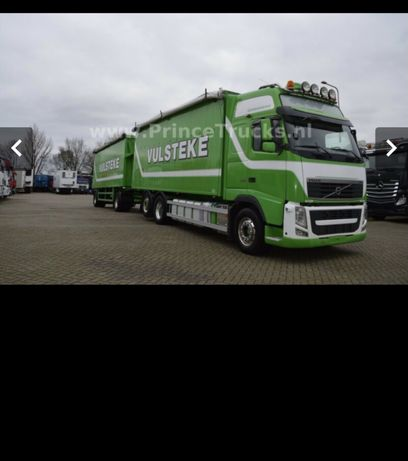 Camion Volvo FH cereale tandem