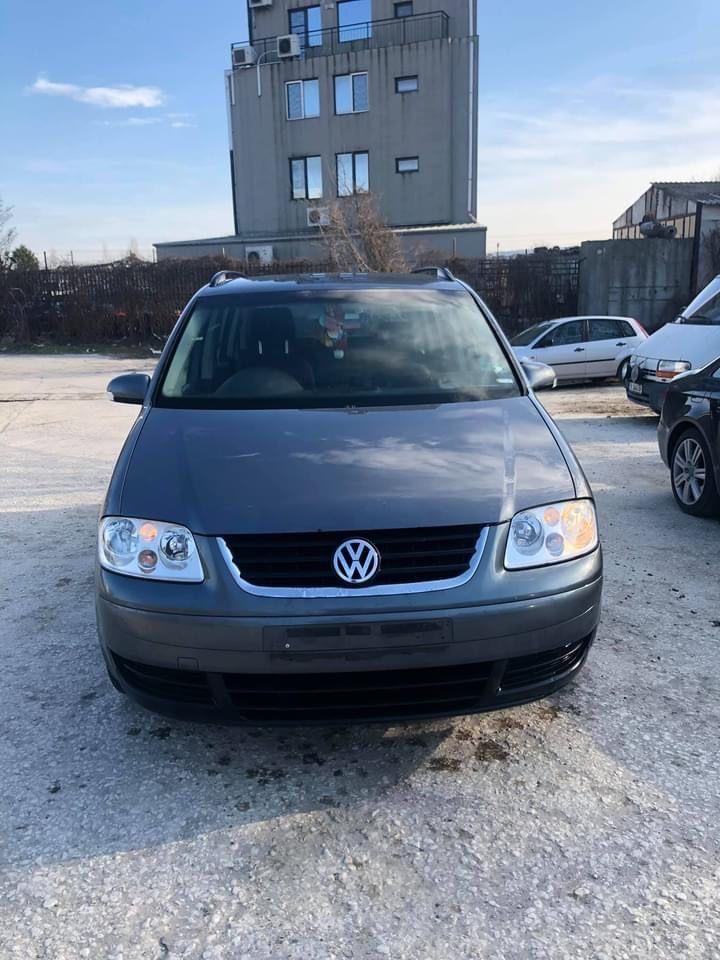 VW Touran 1.9TDI BKC 6 скорости Фолксваген Туран '04г 105кс