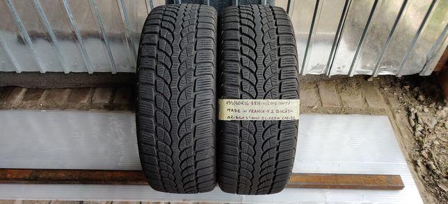 195/50 R16 - 2 anvelope Bridgestone M+S - iarna - 6,7mm!