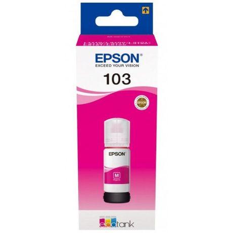 Чернила Epson 103 EcoTank Magenta для L3100/L3101/L3110 C13T00S34A