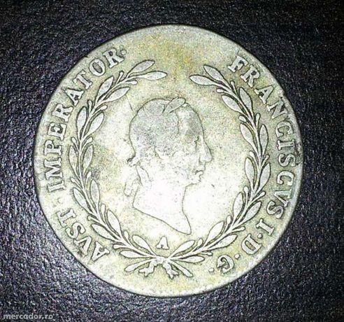 Moneda din  1825 avast imperator franciscvs i.d.g