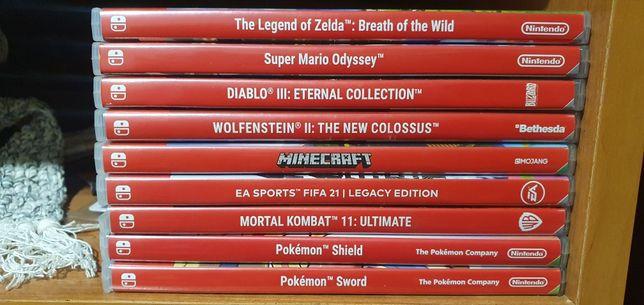 Катриджи игр оптом на Nintendo switch