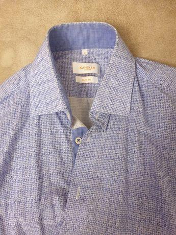 Рубашки мужские с длинными рукавами фирменные, р.46
