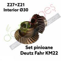 Set pinioane conice pentru cositoare Deutz-Fahr / Pottinger
