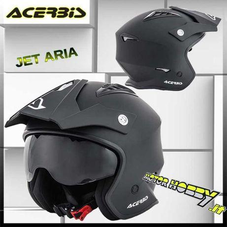 Acerbis jet aria s m l xl каска мото мотор аксербис