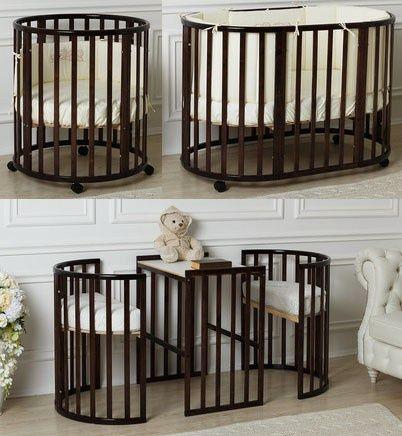 Кровать детская Solo Plus 8 в 1. Сhocolate