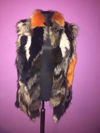 Елек естествен косъм лисица