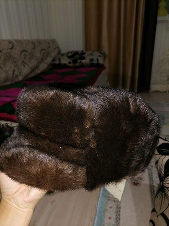 Норка шапка мужской новый производства Россия