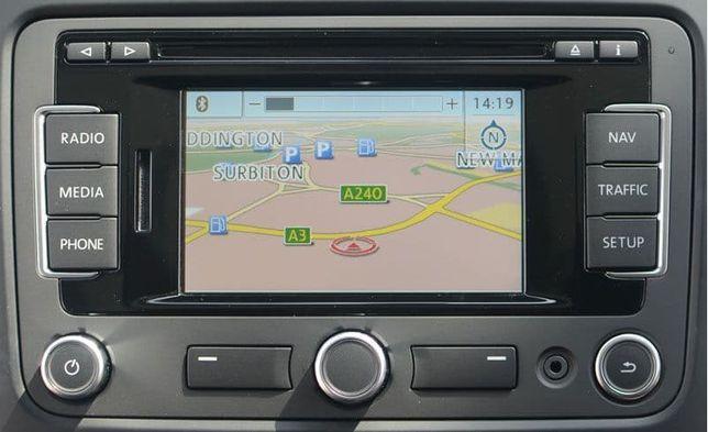Navigatie originala VW RNS315 bluetooth antena GPS card SD harta RO