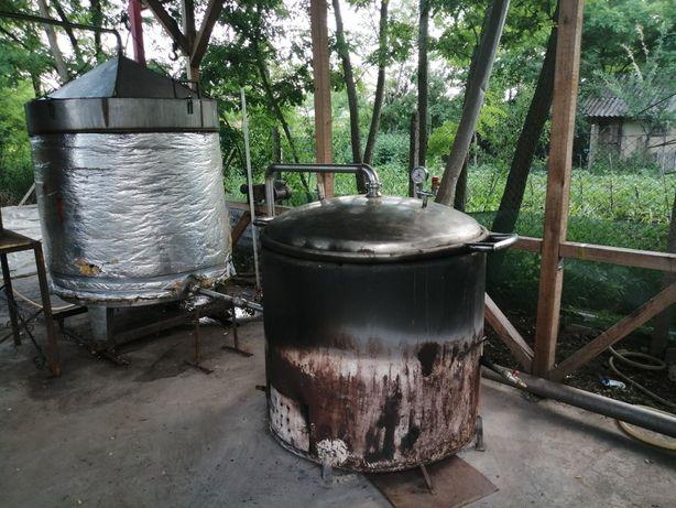 Instaltie de Distilat Lavanda si Plante Aromatice