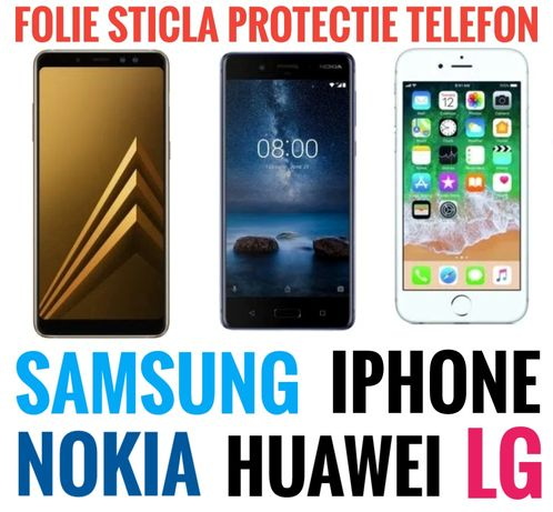 Folie samsung s 6 7 8 9 10 20 edge plus ultra note iphone x xs 11 j a