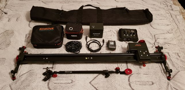 Slider Konova K7+MsKits & basic controller+brat trepied(schimb)