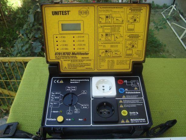 Tester izolatie - aparat de măsură, BEHA 0701/0702, Multitester