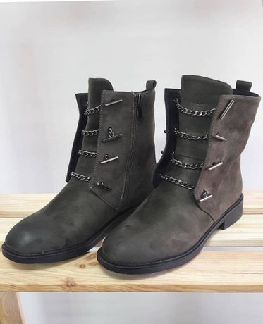 Женская обувь - Ботинки весна/осень