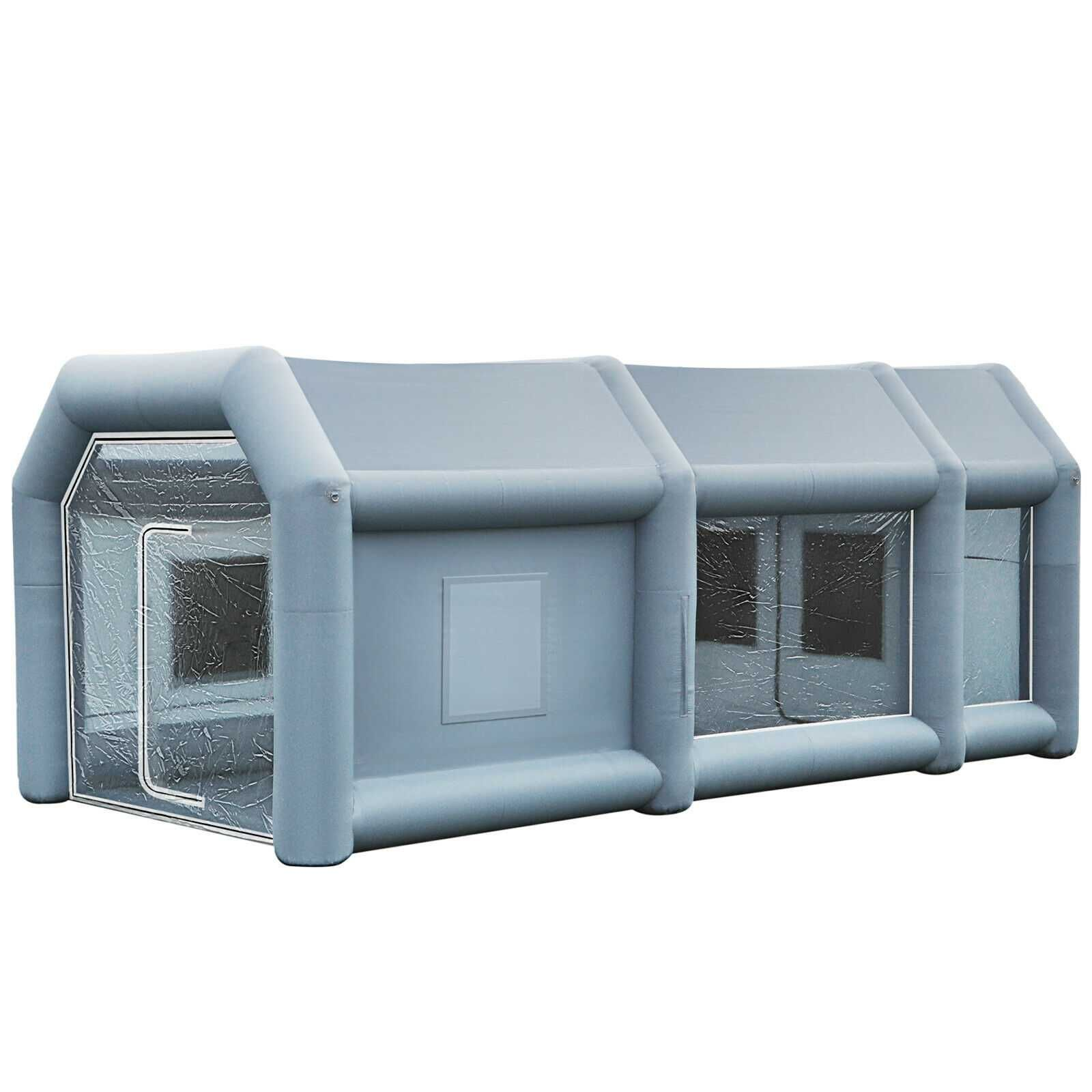 ,cabină DE VOPSIT GONFLABILA , ,12x5x4m cort/2 suflante