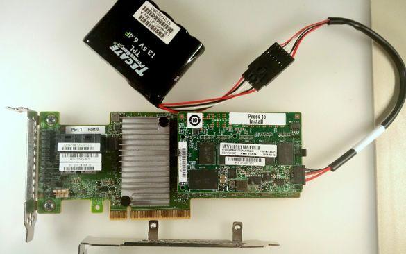 RAID Контролер IBM Lenovo M5210 2GB ServeRAID 12Gb/s CacheCade 46C9111