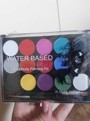 Краски для лица аквагрим
