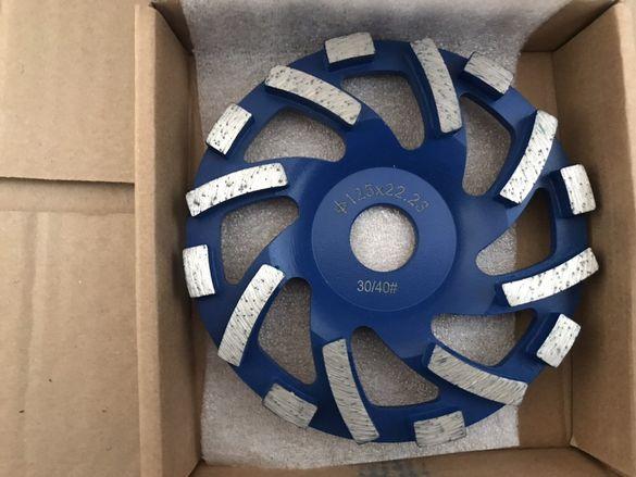 Диамантен диск серия TURBO ф 125мм