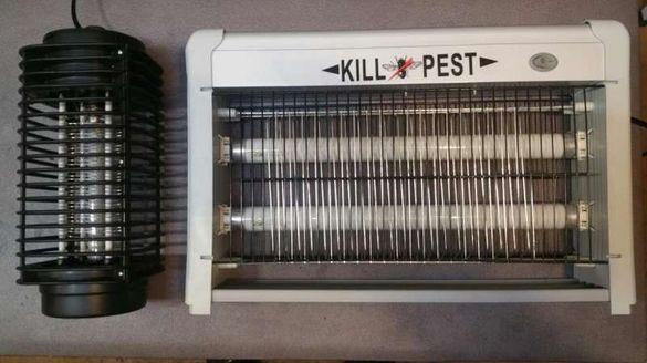 Лампа против комари и насекоми, LED лампи срещу вредители антисект