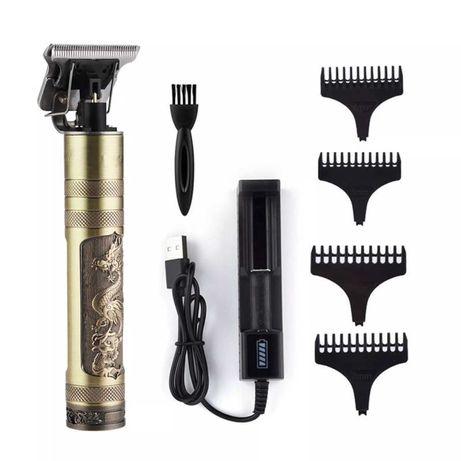 Машинка Kemei за бръснене  , подстригване и оформяне с винтидж дизайн