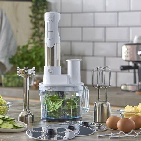 Чисто нов с гаранция Пасатор с Кухненски робот HOMA HBS-1001XJ