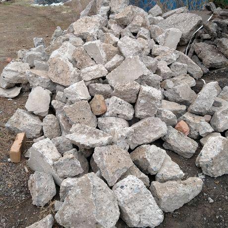 Бут камень для заливки фундамента