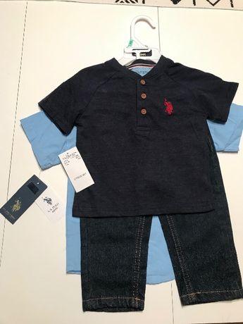 U.S.Polo Assn детски костюм в три части