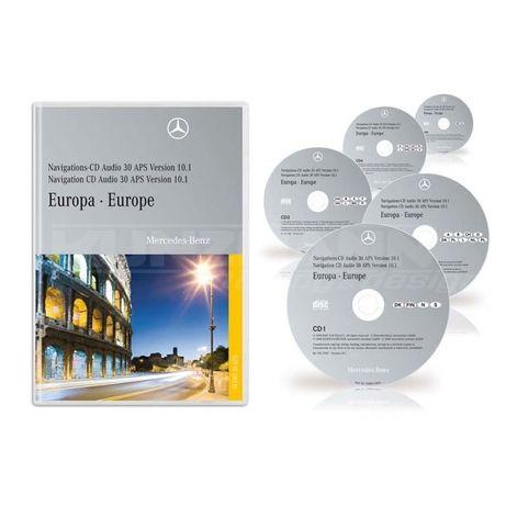 Navigation CD Audio 30 APS Europa 10.1 2008-2009 Original Mercedes Ben