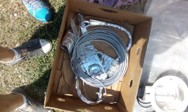 Centura de siguranta cu cablu otel