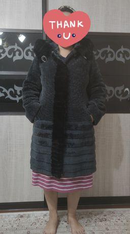 Шуба мутон зима размер 48-50