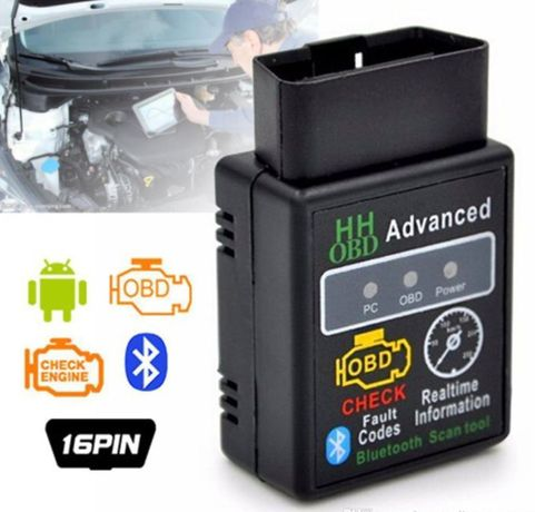 Interfata diagnoza ELM327 Premium HH Advanced OBD II V1.5 Bluetooth