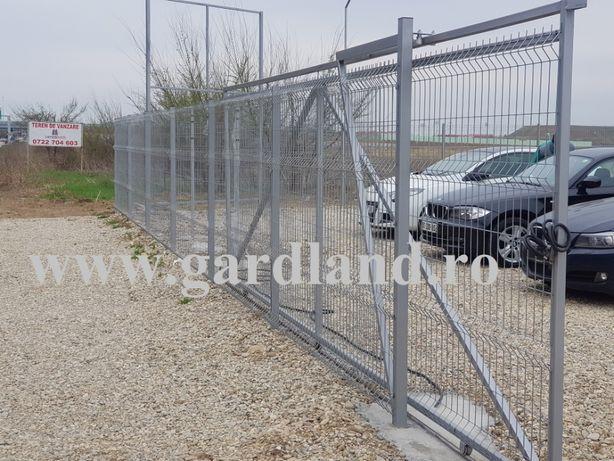 Gard Zincat / gard din plasa / asiguram montaj