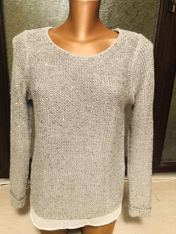Pulover bluza paiete Esmara