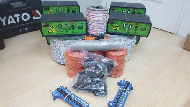 Generator pentru gard electric Voltmetru digital Pastor