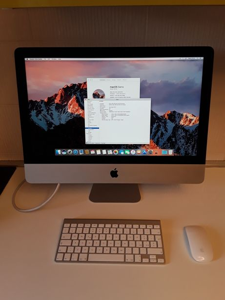 Imac 21,5 mid 2014 i5 8gb 500hdd impecabil functional si estetic