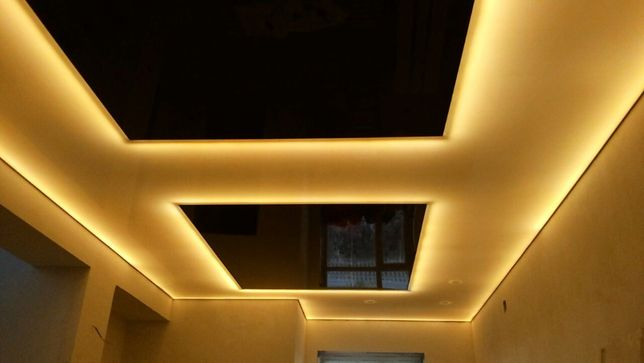 Натяжные потолки, качество и гарантия- 1500 тенге