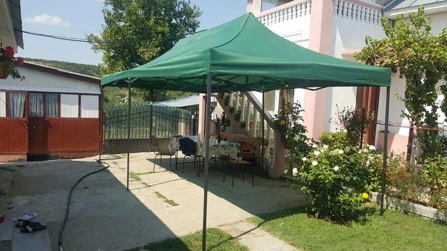 Pavilion cort foisor pliabil gradina camping 3m x 6m Nou Sigilat