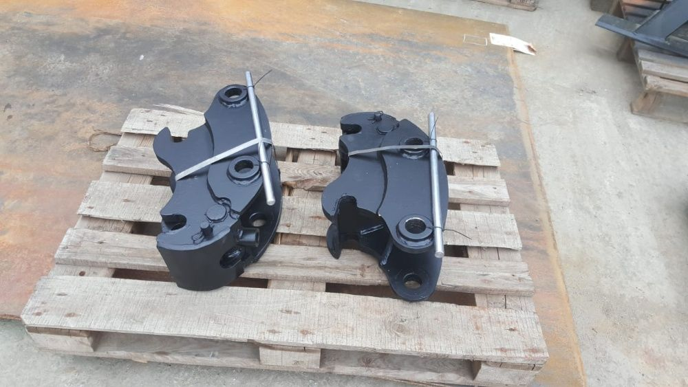 Cupla rapida buldoexcavator Komatsu, CAT, Terex, Volvo etc. HARDOX Brasov - imagine 1