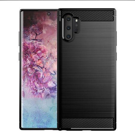 Луксозен калъф / кейс / гръб карбон Carbon за Xiaomi Huawei Samsung