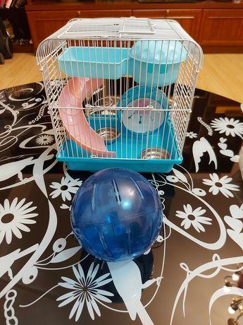 Клетка для мелких грызунов+шар