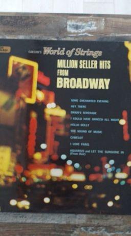 Disc vinil vechi Carlini's World of strings