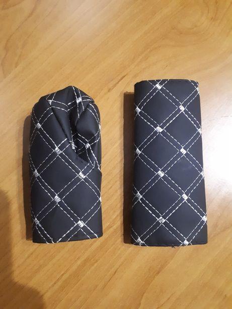 Чехлы на ручку коробки и ручника